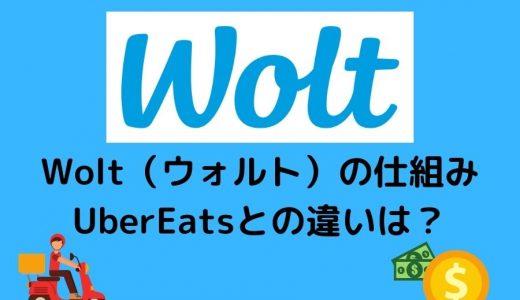 【Wolt(ウォルト)配達員の仕組み】料金(報酬)・メリットを徹底解説!